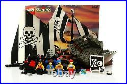 Lego Pirates I Set 6268 Renegade Runner 100% complete + instructions rare 1993