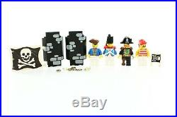 Lego Pirates I Set 6270 Forbidden Island 100% complete + instructions rare 1989