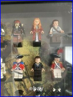 Lego Pirates Of The Caribbean Minifigures Complete Collection