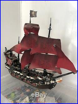 Lego Pirates Of The Caribbean Queen Annes Revenge Set 4195 Ship ONLY RARE
