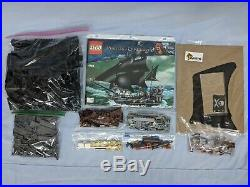 Lego Pirates of the Caribbean 4184 The Black Pearl Complete Set