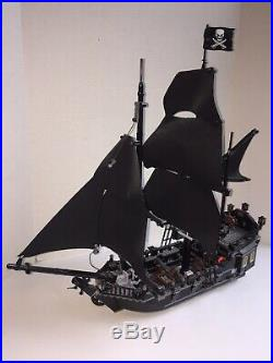 Lego Pirates of the Caribbean 4184 The Black Pearl No Instructions Davey Jones