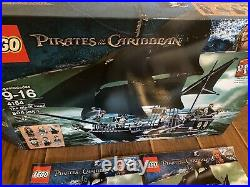 Lego Pirates of the Caribbean 4184 The Black Pearl (complete, minifigs, manuals)