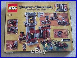 Lego Pirates of the Caribbean 4194 Whitecap Bay NISB factory sealed insuredshp