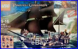 Lego Pirates of the Caribbean Set 4184 The Black Pearl Minifigures & Instru 100%