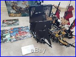 Lego Pirates of the Caribbean Ship Queen Annes Revenge, Silent Mary, Black Pearl