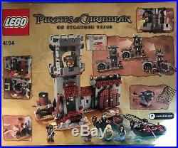 Lego Pirates of the Caribbean Whitecap Bay (4194) Set NEW Sealed