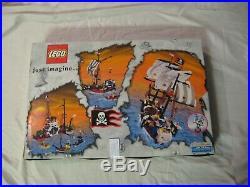 Lego Set # 6290 Pirate Battle Ship 100% Complete W Box Instructions