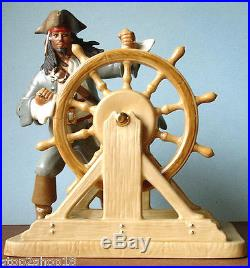 Lenox Disney Captain Jack Sparrow Pirates of The Caribbean Figurine New