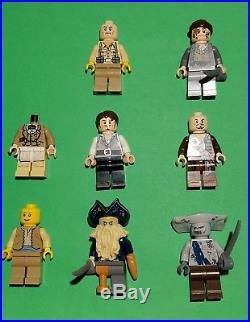 Lot of LEGO Pirates of the Caribbean Davy Jones Bootstrap Jack Maccus sword
