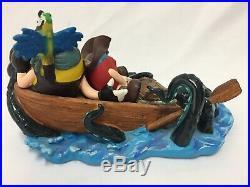 M&M's Pirates of the Caribbean Resin Display RARE Disney FREE SHIPPING