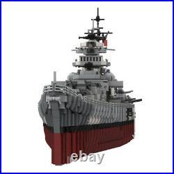 MOC-29408 Building Blocks Set for KMS Bismarck Battleship Bricks Good Quality