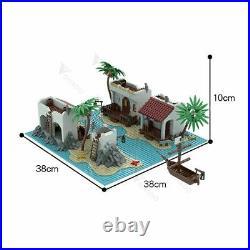 MOC-55974 Legoredo Lagoon Town Sets Building Blocks Toys Sets 1375 PCS Bricks