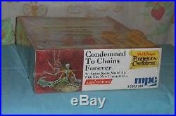 MPC Disney Pirates of the Caribbean model kit CONDEMNED TO CHAINS FOREVER sealed