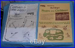 MPC Disney Pirates of the Caribbean model kit CONDEMNED TO CHAINS FOREVER unused