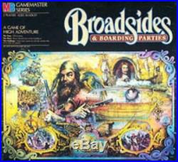 MTB GameMaster Series Broadsides & Boarding Parties Box Fair