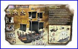 Mega Bloks 1017 Disney Pirates of the Caribbean Dead Man's Chest Black Pearl NOB