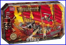 Mega Bloks 1065 Pirates of the Caribbean 3 At World's End Deluxe Ship Empress