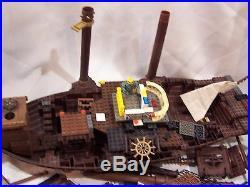 Mega Bloks Blocks Man O War Pirate Ship Dragon Incomplete Replacement Piece 9895