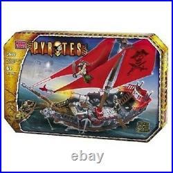 Mega Bloks Pyrates Admiral Scathes Predator 3619