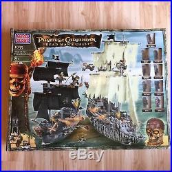 Mega Bloks Set 1035 Siege of The Flying Dutchman Pirates of the Caribbean RARE