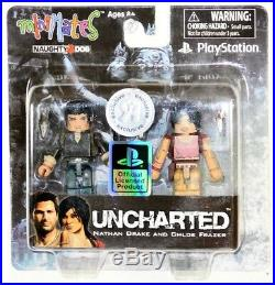 Minimates Sony Playstation TRU Set of 8 Jak Ratchet Resistance Uncharted