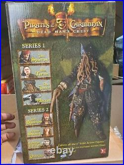 NECA DAVY JONES 12 Action Figure With Sound Pirates of Caribbean Dead Man's Chest