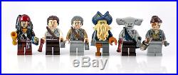 NEW BRAND Pirates Of The Caribbean Black Pearl Ship Compitible TO Lego 4184