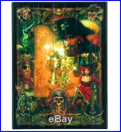 NEW Disney Parks Pirates of the Caribbean Wooden Wall Sign Plaque! REDHEAD