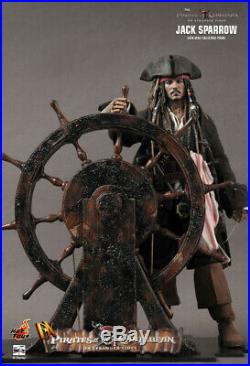 NEW Hot Toys Captain Jack Sparrow Pirates Of The Caribbean Action Figure DX06