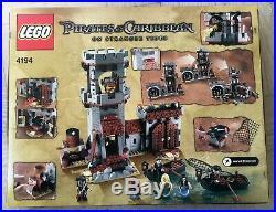 NEW Lego 4194 Disney Pirates of the Caribbean Whitecap Bay FACTORY SEALED