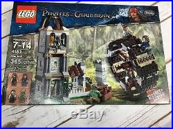 NEW Sealed Box! LEGO 4183 The Mill Pirates of the Caribbean Set