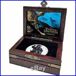 NIUE 2017 Pirates of the Caribbean 1oz Silver Coin