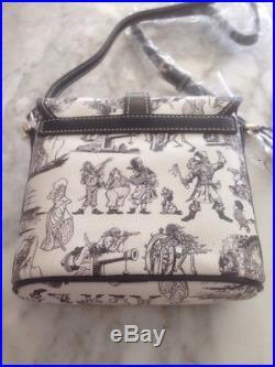 NWT Disney Dooney & Bourke Pirates Of The Caribbean Redhead Crossbody Purse Bag