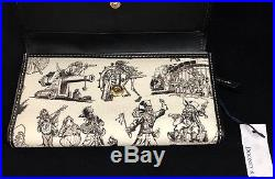 NWT Disney Dooney & Bourke Pirates Of The Caribbean Wallet Checkbook Wallet