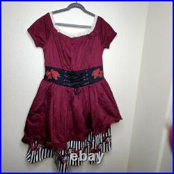 NWT Disney Parks Dress Shop The Redd Pirates Of The Caribbean Women's Dress XL