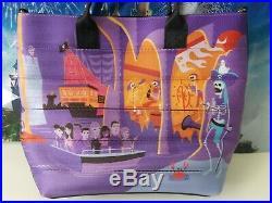 NWT Harveys Disney Wonderground Pirates of The Caribbean Medium Streamline Tote