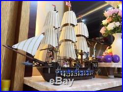 New Custom Pirates Imperial Flagship 10210 + Instruction + Without Orig Box