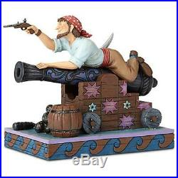 New Disney D23 Pirates Of The Caribbean Jim Shore Pirate On Cannon Figurine