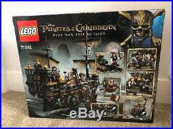 New Lego Pirates of The Caribbean Silent Mary 71042, UNOPENED, SEALED