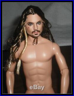 Nude Ken Doll Mattel Pirates Of The Caribbean Jack Sparrow Model Muse For Ooak