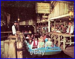 Original Disney Pirates Of The Caribbean Ride Wooden And Metal Prop Plus Artwork