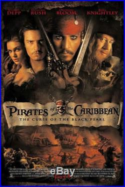 Original Pirates Of The Caribbean Cotbp Black Pearl Pitcher Prop