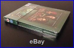 PIRATES OF THE CARIBBEAN DEAD MAN'S CHEST Blu-Ray SteelBook Zavvi UK. OOP Rare