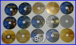 PIRATES OF THE CARIBBEAN FOUR MOVIE COLLECTION Disney Blu-Ray / DVD Box Set