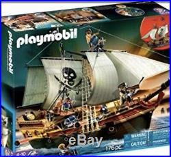 PLAYMOBIL Original Set Pirates Ship (Discontinued /Pulled from the shelves)