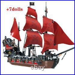 Pearl Ship Queen Anne's Revenge Pirates Caribbean Bricks Pirates Building Blocks