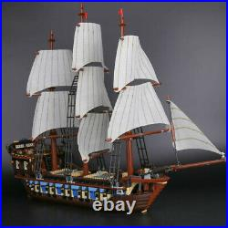 Pirates Of The Caribbean 10210 Imperial Flag Ship Blocks Technic Kids Toys Gifts