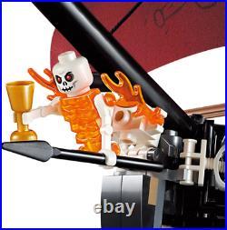 Pirates Of The Caribbean 4195 Queen Anne's Revenge Ship Blocks Technic Kids Toys