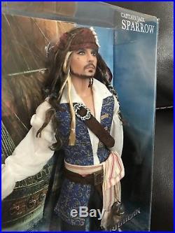 Pirates Of The Caribbean Jack Sparrow Ken Doll Mattel Pink Label Nrfb